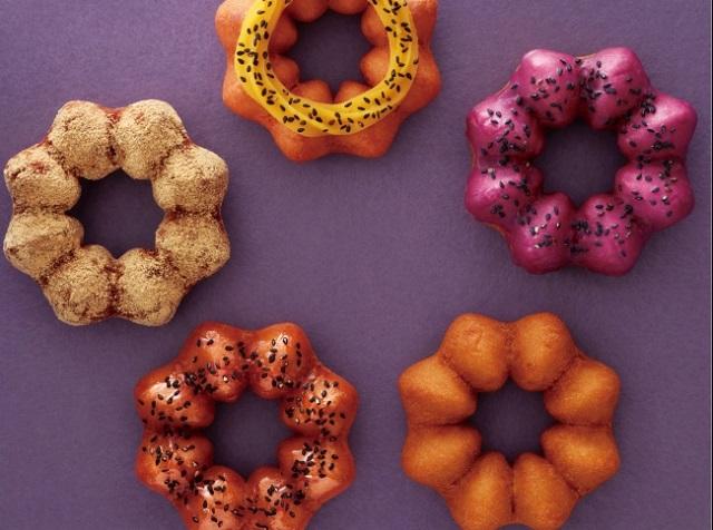Mister Donuts Japan laver søde kartoffel donuts til efteråret