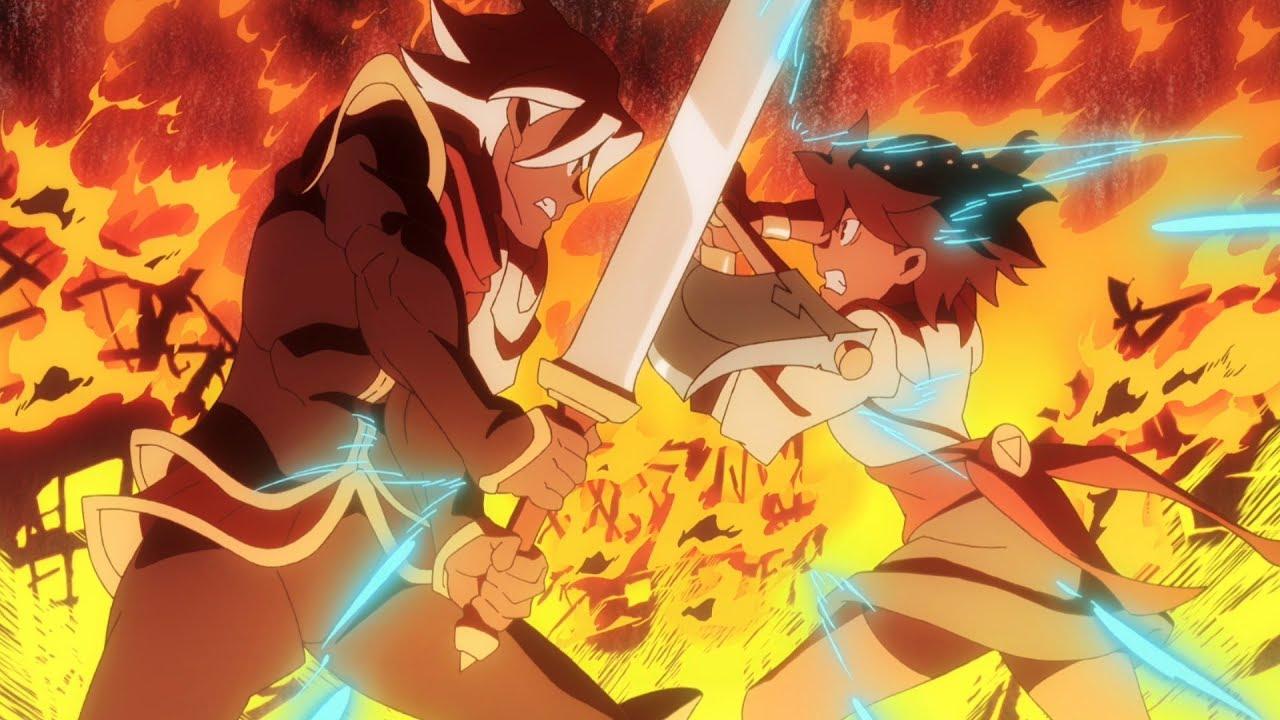 Indivisible spil anime åbningssekvens