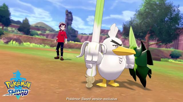 Sirfetch'd i ny Pokémon Sword and Shield Trailer
