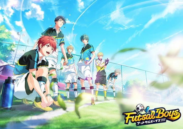 Futsal Boys!!!!! sports projekt med anime og spil