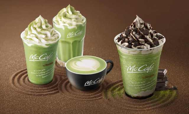 McDonald's Japan har ny Oreo oh matcha green tea frappe