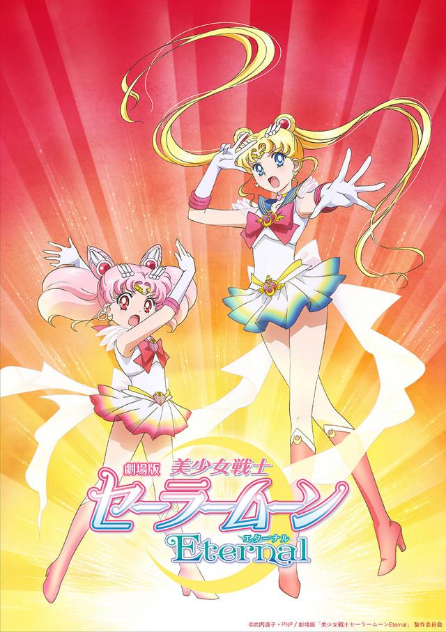 Sailor Moon Eternal 2 del anime film på vej