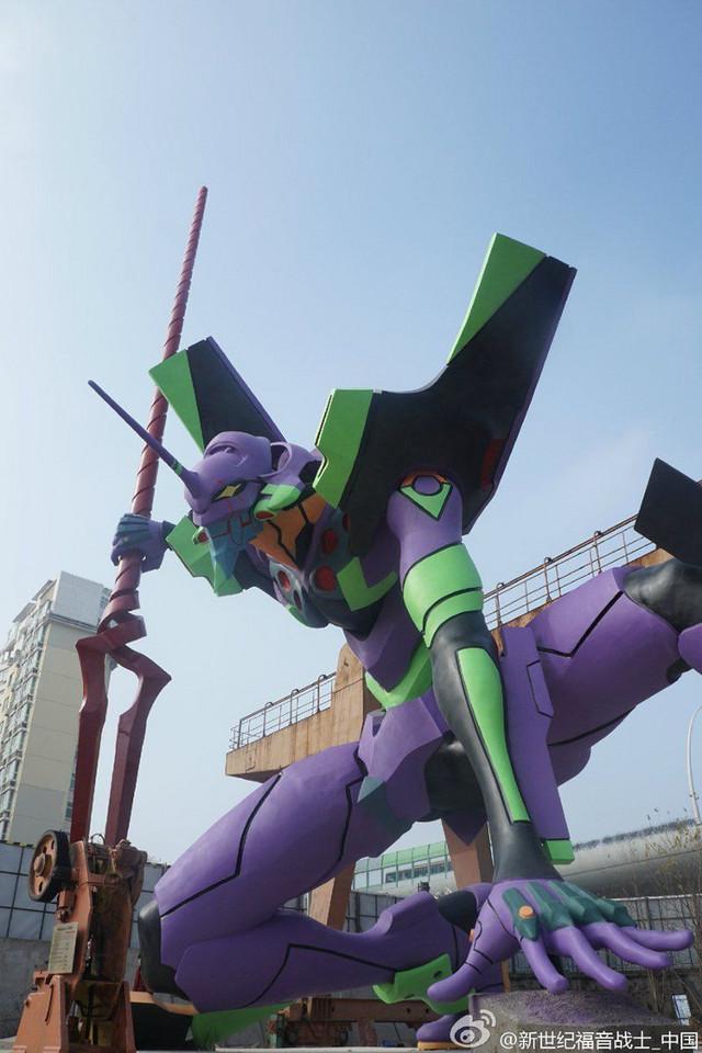 Nagoya får 6m høj Evangelion