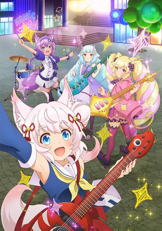 Show By Rock!! får ny anime til januar