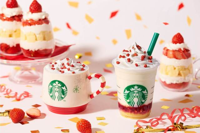 Starbucks Japan får Merry Strawberry Cake Frappuccino til jul