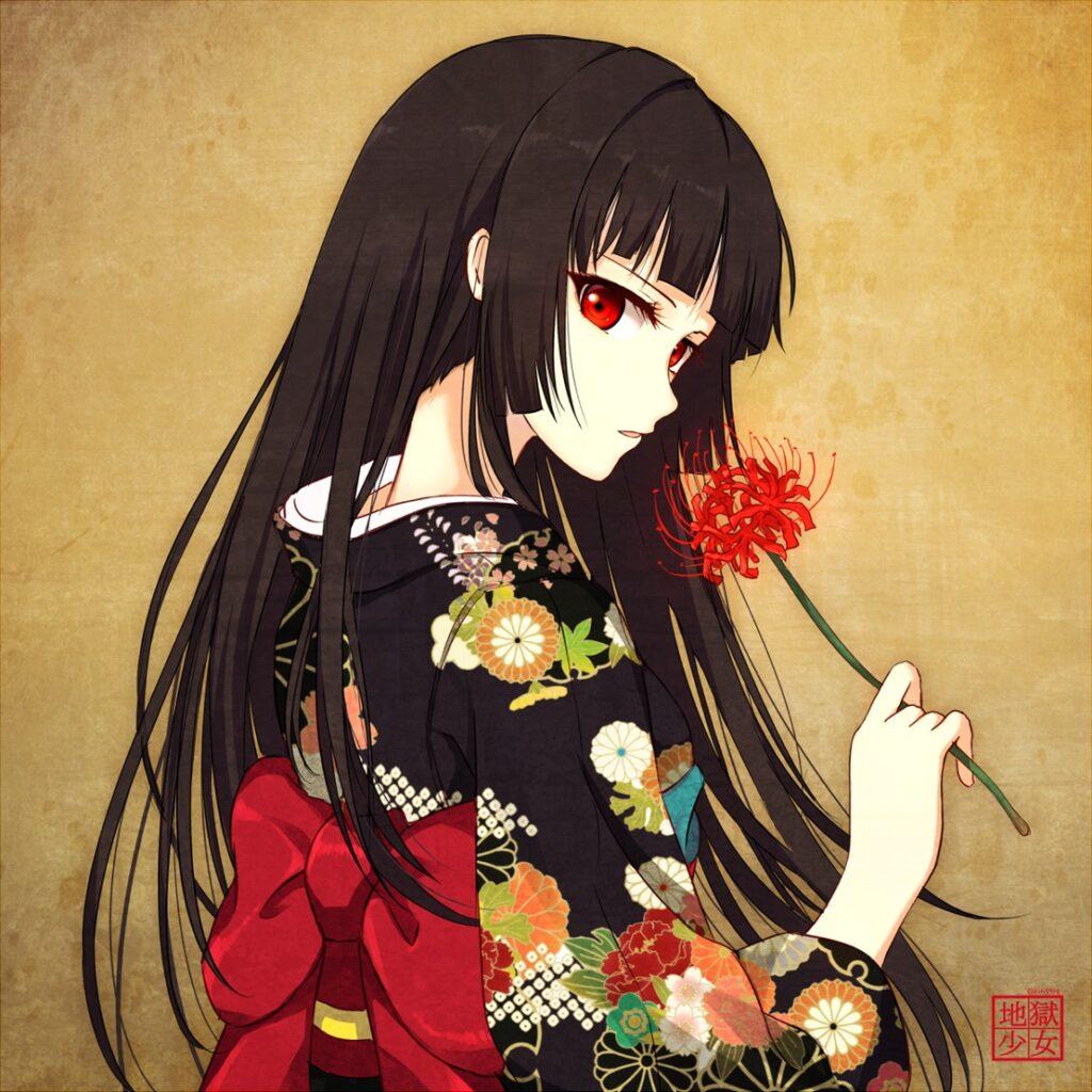 10. Ai Enma (Hell Girl)