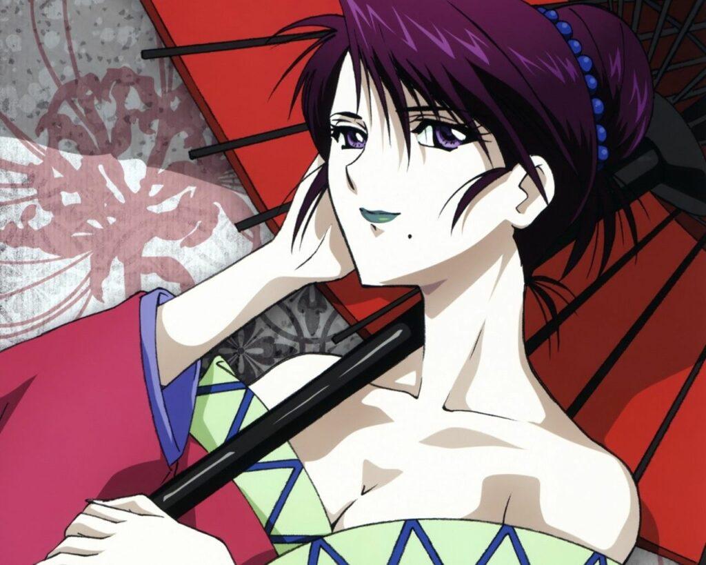 3. Yumi Komagata (Rurouni Kenshin)