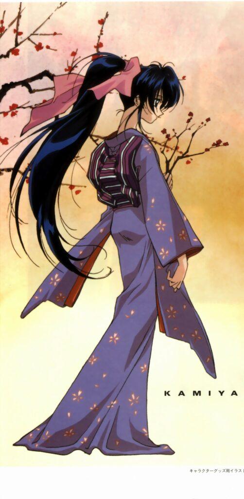 8. Kaoru Kamiya (Rurouni Kenshin)