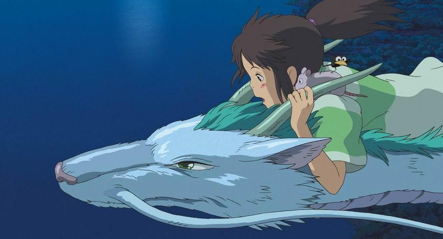1. Studio Ghibli (Chihiro)