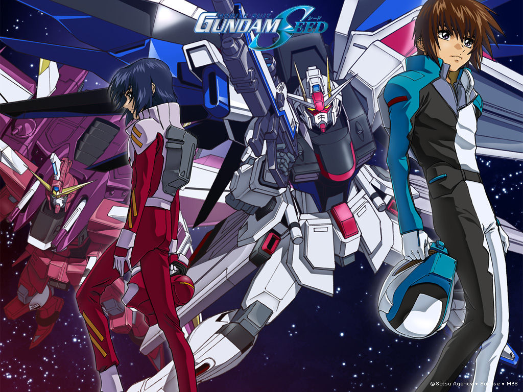 8. Mobile Suit Gundam SEED (432)