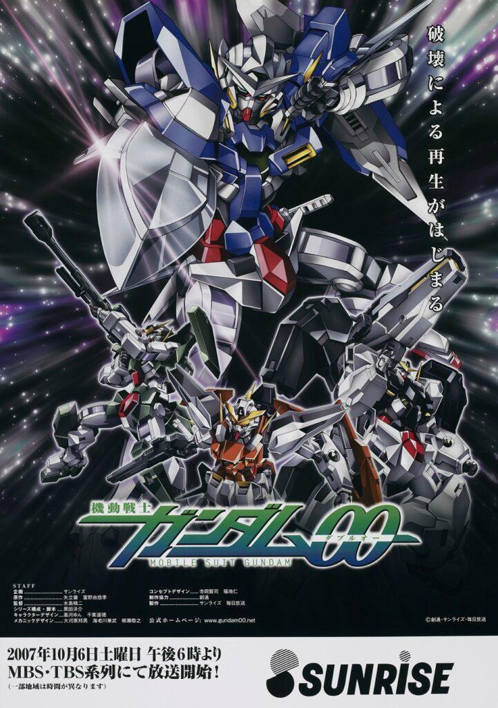 9. Mobile Suit Gundam 00 (128)