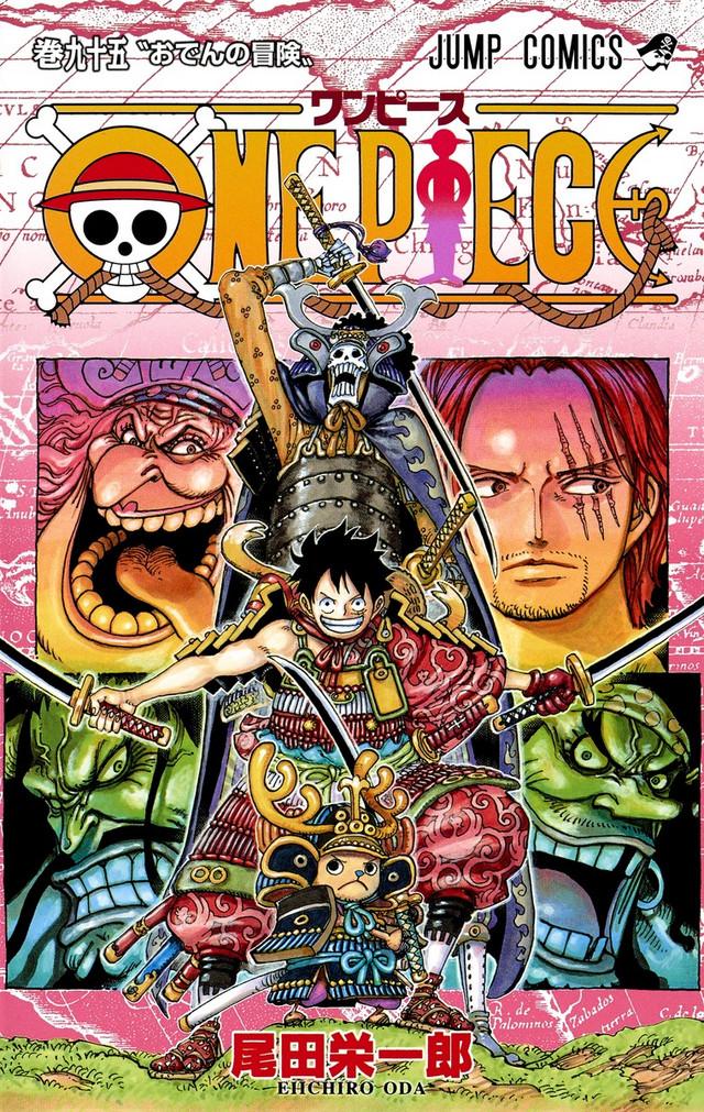 One Piece mangaen er udgivet i mere end 460 millioner eksemplarer