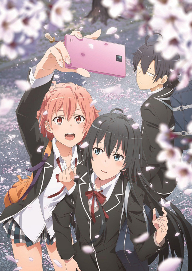 My Teen Romantic Comedy SNAFU anime sæson 3 til april