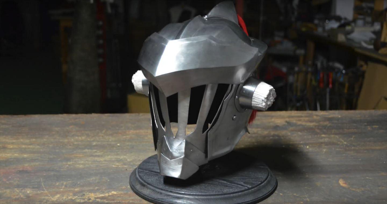 Goblin Slayers' hjelm i virkeligheden