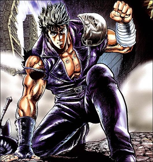 9. Kenshiro (Fist of the North Star / Hokuto no Ken)