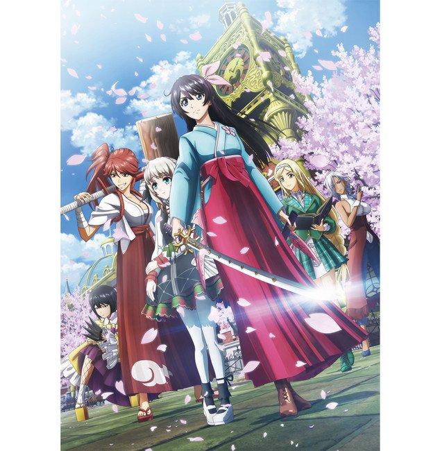 Ny Sakura Wars Anime Video