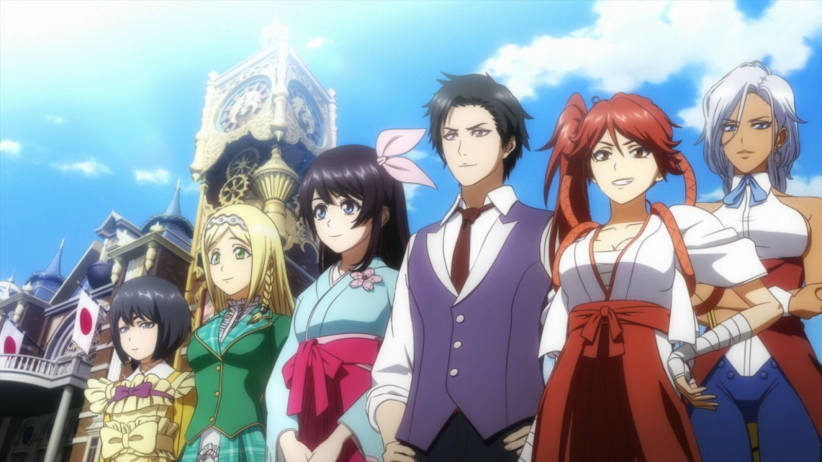 Det ny Sakura Wars spil kommer til april