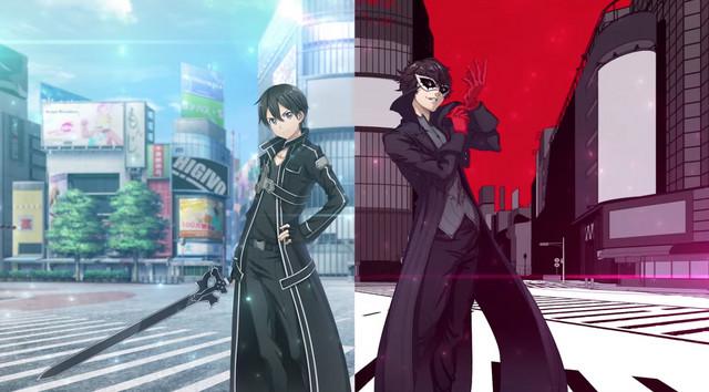 Sword Art Online x Persona 5 Crossover