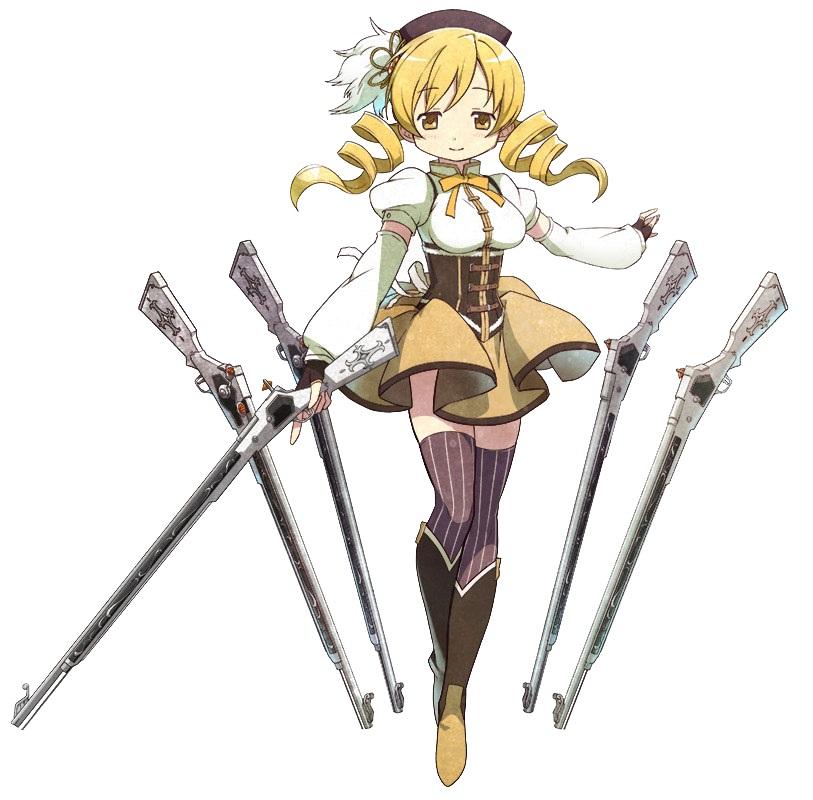 3. Mami Tomoe (Mahou Shoujo Madoka Magica)