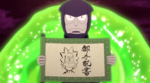 Rick and Morty anime fra Studio Deen