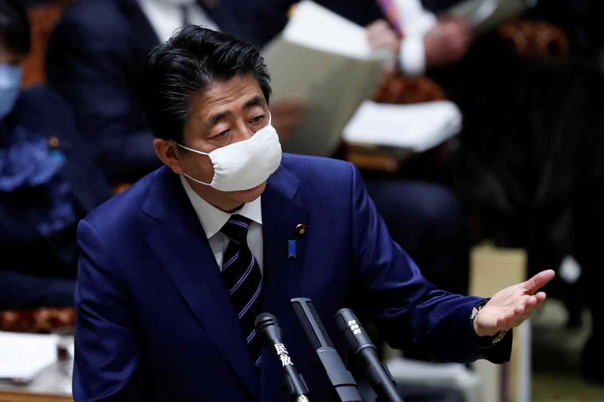 Shinzo Abe. Foto REUTERS/Issei Kato