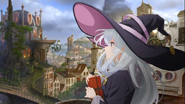 Wandering Witch – The Journey of Elaina TV anime teaser og billeder