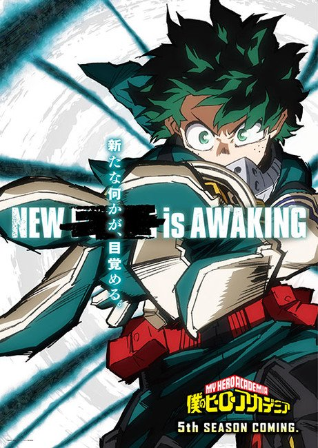 My Hero Academia anime får 5 sæson