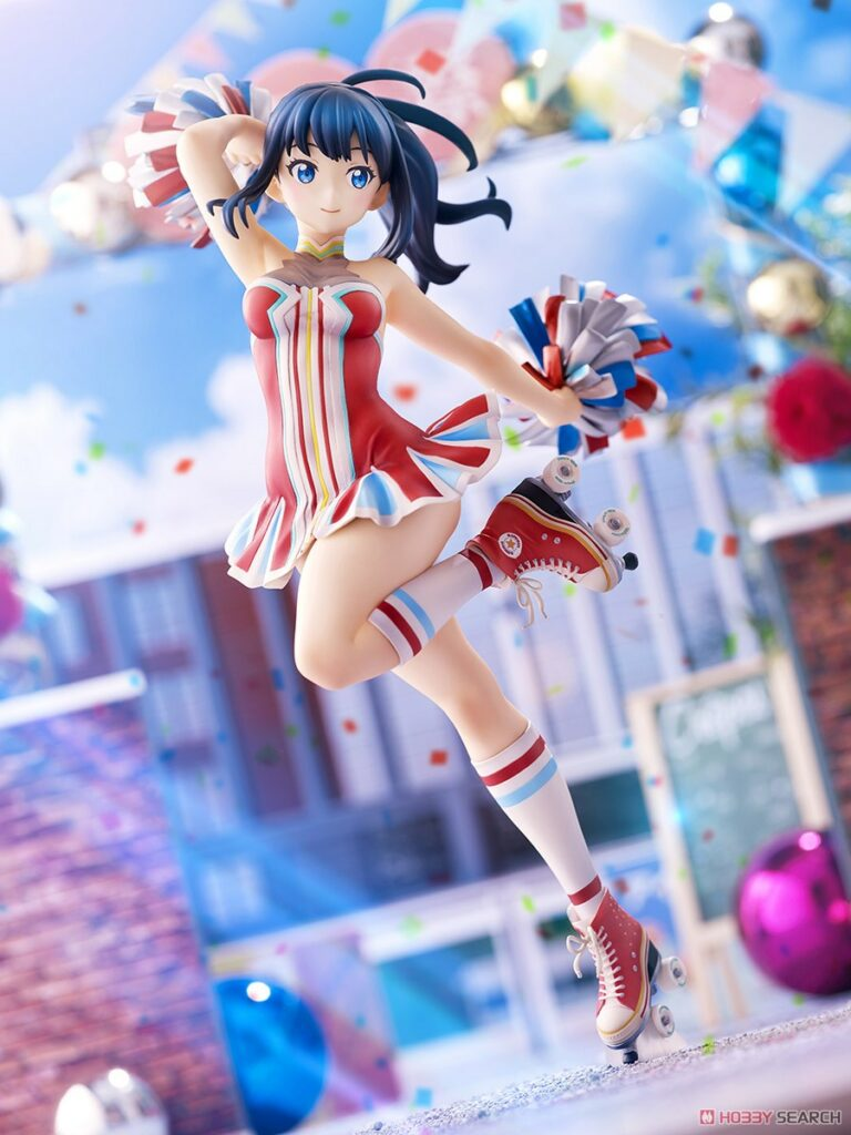 SSSS.Gridman Rikka Takarada Cheerleader Style