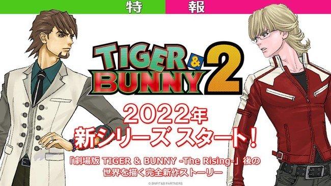 Tiger & Bunny får anden anime sæson i 2022