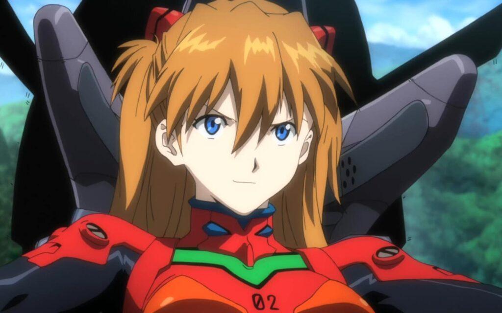1. Asuka Langley Shikinami