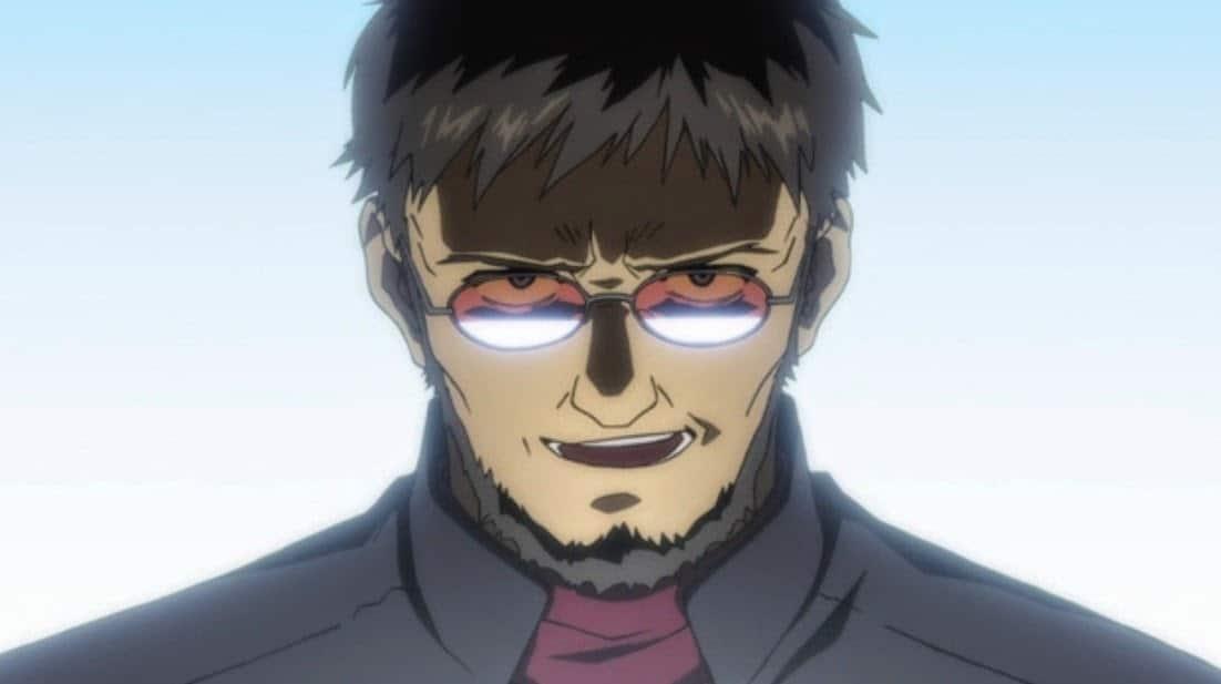 10. Gendo Ikari