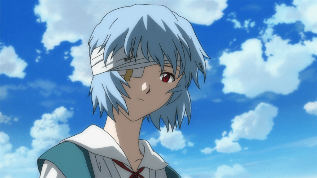3. Rei Ayanami