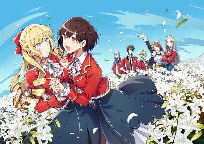 I'm in Love with the Villainess yuri light novels laves til manga