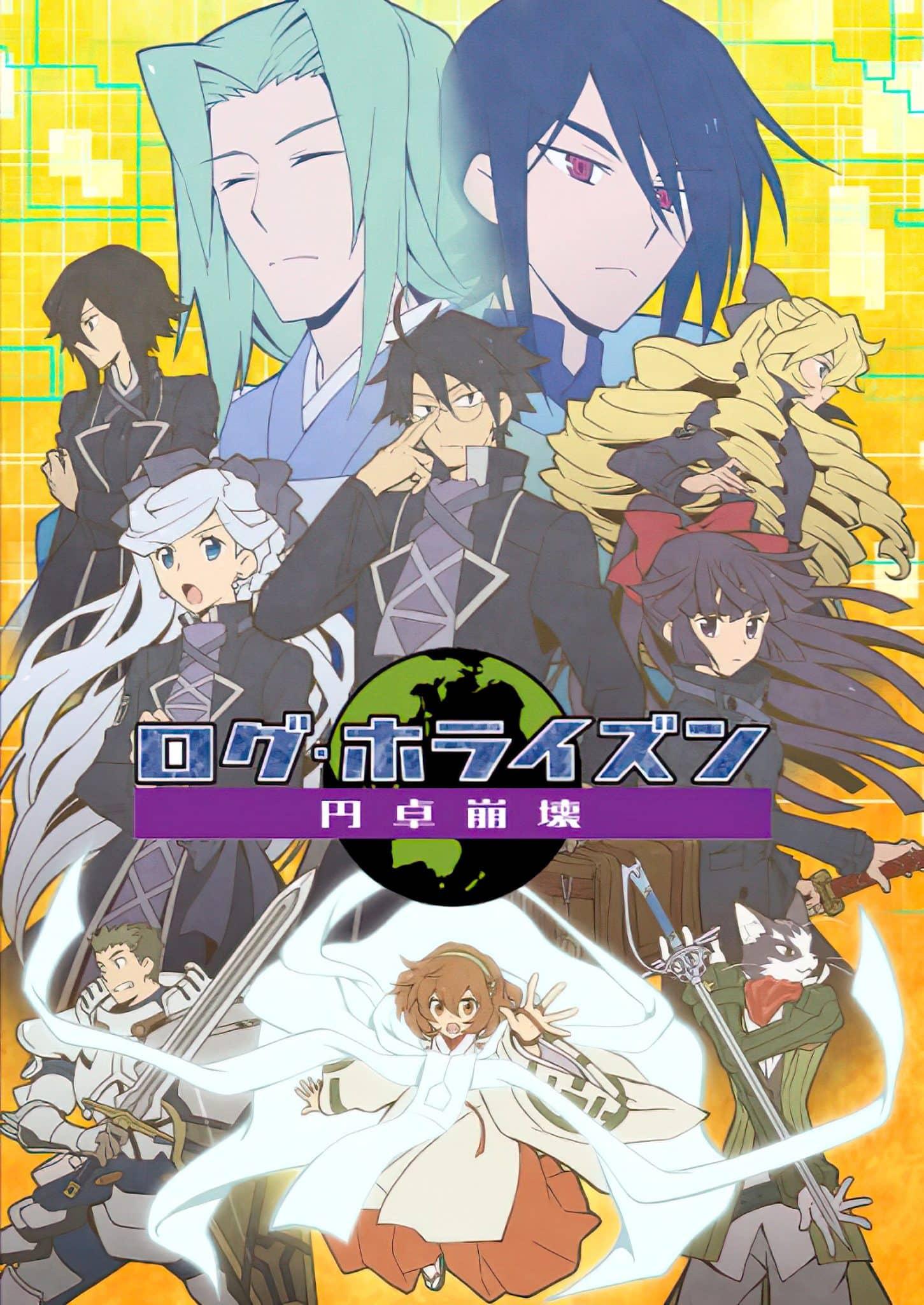 Log Horizon anime sæson 3 udskudt til januar 2021 grundet COVID-19