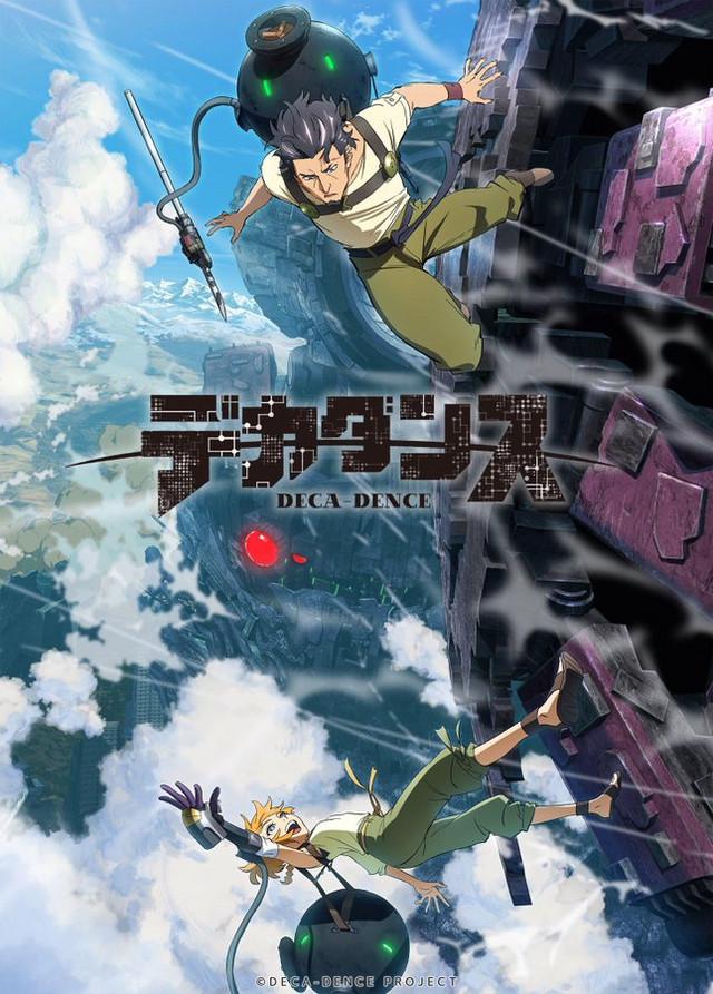 Deca-Dence original sci-fi anime trailer og info