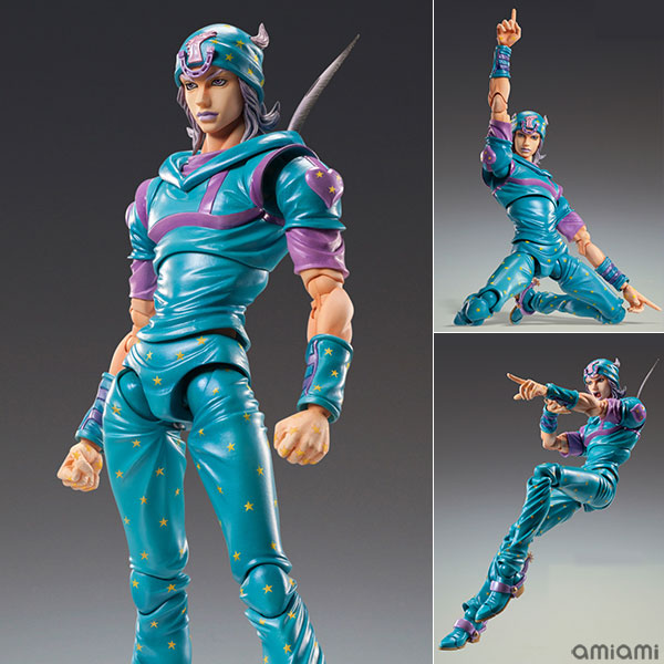 Super Action Statue JoJo's Bizarre Adventure Part.VII Steel Ball Run Johnny Joestar Second
