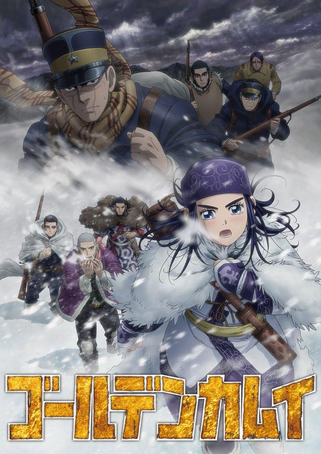 Golden Kamuy TV anime sæson 3 oktober 2020