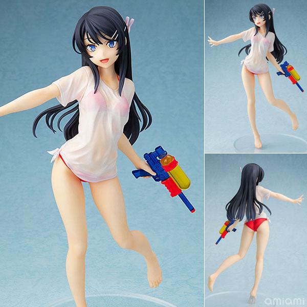 Rascal Does Not Dream of Bunny Girl Senpai Mai Sakurajima Water Gun Date ver.