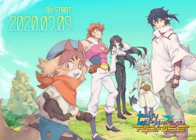 Gundam Build Divers Re:RISE sæson 2 anime begynder igen efter COVID-19 forsinkelse