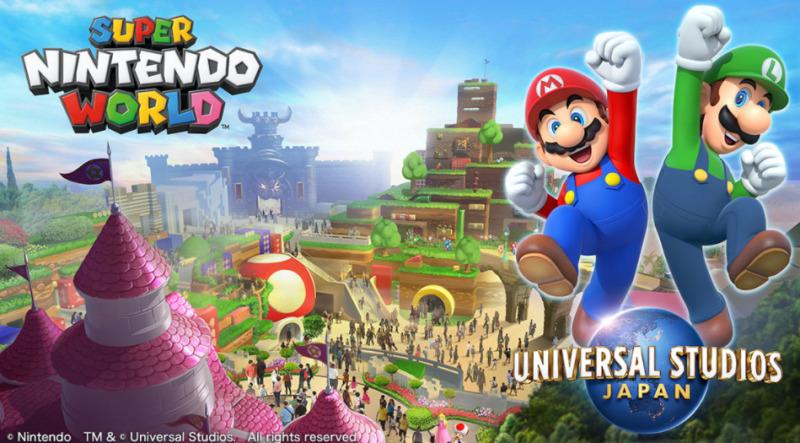 Universal Studios Japans Super Nintendo World udskudt grundet COVID-19