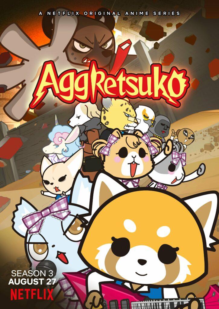 Aggretsuko anime sæson 3 kommer på Netflix 27 august