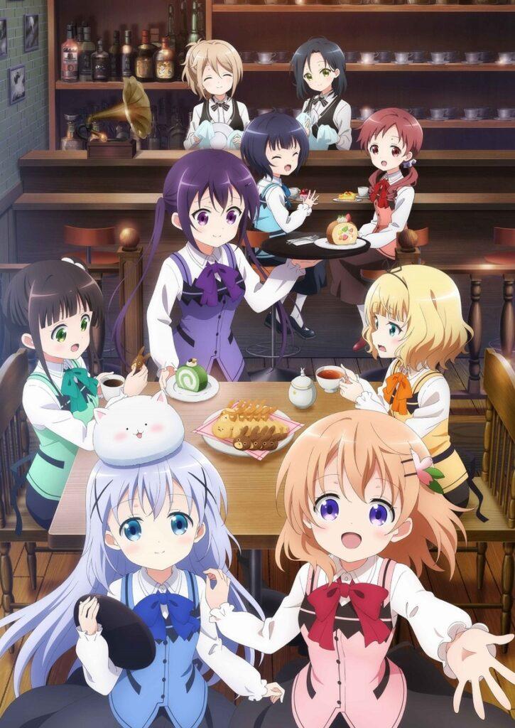 Is the order a rabbit? BLOOM anime billede og info