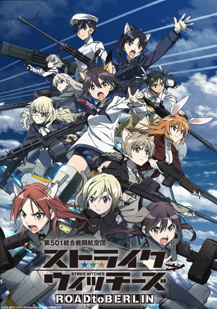 Strike Witches: Road to Berlin TV anime billede og info