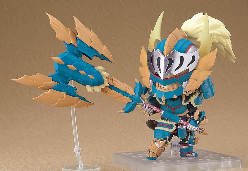 MONSTER HUNTER WORLD: ICEBORNE Nendoroid Hunter: Male Zinogre Alpha Armor Ver. DX