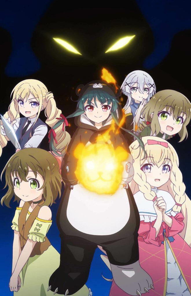 Kuma Kuma Kuma Bear anime trailer 2 og info