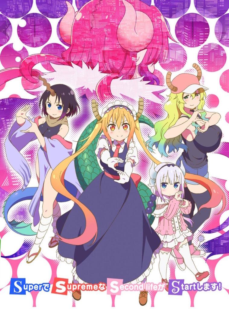 Miss Kobayashi's Dragon Maid anime sæson 2 i 2021