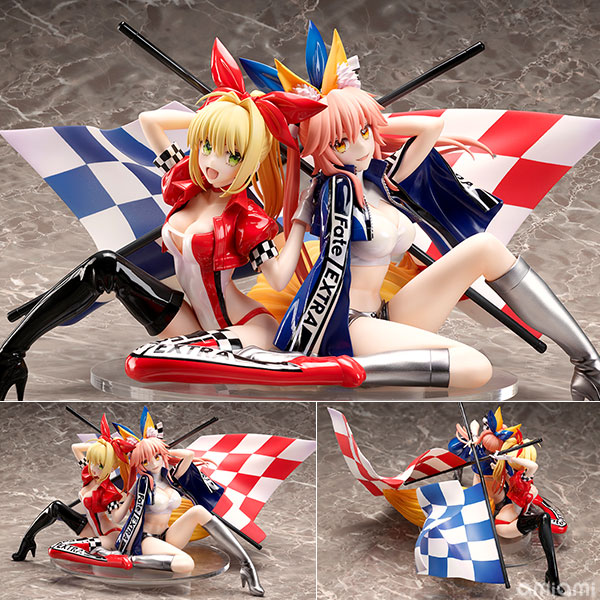 Fate/Extra Nero Claudius & Tamamo no Mae TYPE-MOON Racing ver.