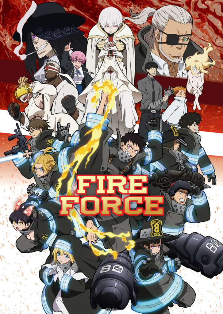 6. Fire Force S2