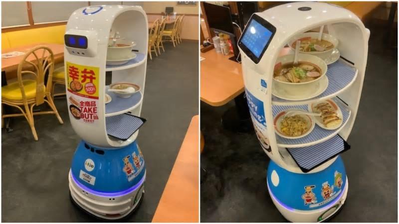 Ramen serverings robotter