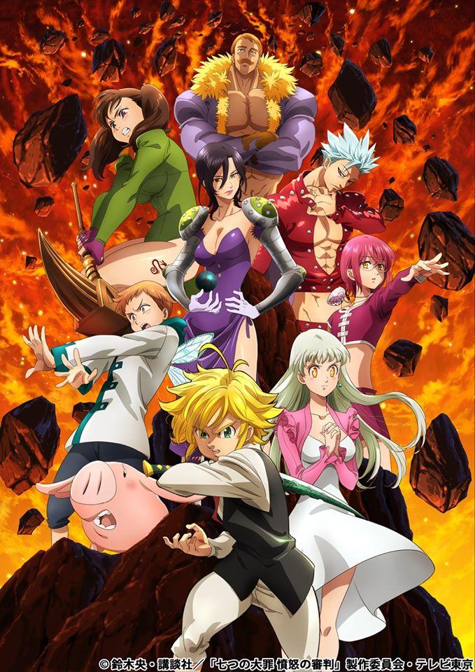 Nye Seven Deadly Sins TV Anime får premiere i januar 2021 efter forsinkelse grundet COVID-19